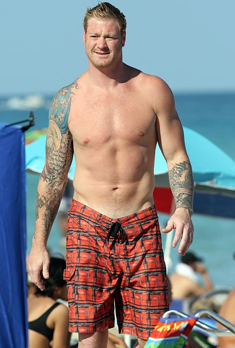 Photo Of The Week Jeremy Shockey On South Beach